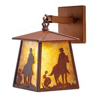 """7.5""""W Cowboy Hanging Wall Sconce"""