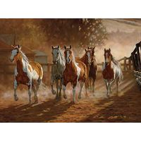 Coming Home - Horses Art Prints