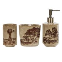 Jasper Three-Piece Bath Accessory Set