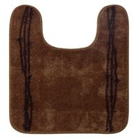 Barbed Wire Bath Rug-Chocolate