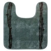 Barbed Wire Bath Rug-Turquoise