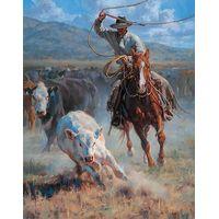 Buckaroo Roper - Cowboy Art Prints