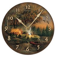 Evening Solitude Wall Clock