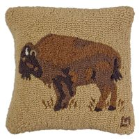 Golden Buffalo 100% Wool Pillow