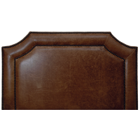 Outlaws Headboard in Butte Leather