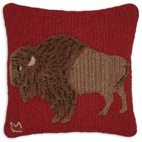 Plush Buffalo Wool Pillow