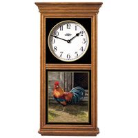 Rooster Regulator Clock