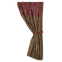 San Angelo Curtain -Paisley