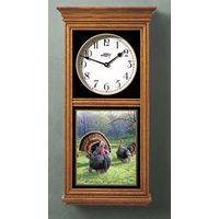 Turkey Oak Regulator Clock