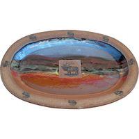 Elk Large Oval Platter