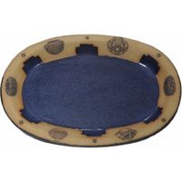 Indian Pots Large Oval Platter
