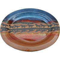 Horse Reflection Small Oval Platter