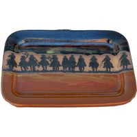 Cowboy Roundup Rectangular Platter