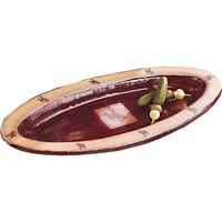 Bucking Bronco Slim Oval Platter