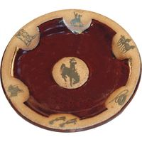 New Western Small Round Platter