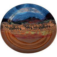 Wild Horses Small Round Platter