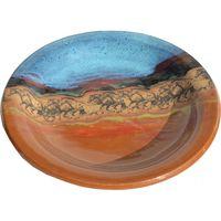 Wild Horses Large Round Platter