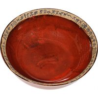Large Mini Petroglyph Serving Bowl