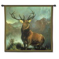 Elk Tapestry Wall Hanging