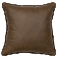 Caribou Leather Pillow