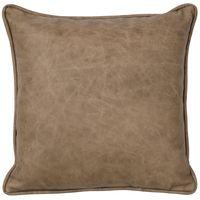 Mushroom Leather Pillow