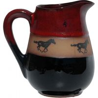 Running Horse Small Pitcher