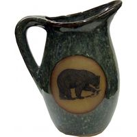 Fishing Bear Milk Pitcher