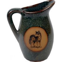 Standing Wolf Milk Pitcher