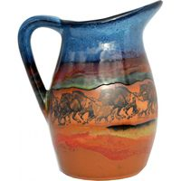 Wild Horses Milk Pitcher