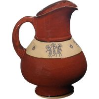 Trio Kokopelli Squat Pitcher
