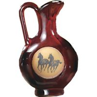 Double Running Horse Flat Pitcher