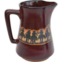 Cowboy Roundup Coffee Pitcher