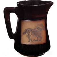 Southwest Running Horse Coffee Pitcher