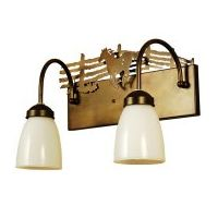 Running Horse Double Vanity Light