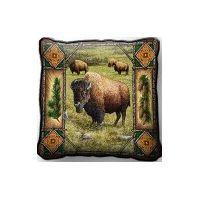 Buffalo Lodge Pillow