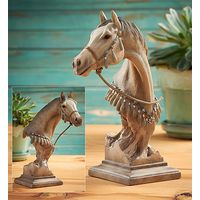 Dapper - Gray Horse Sculpture