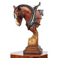 A Light Burden - Clydesdale Sculpture