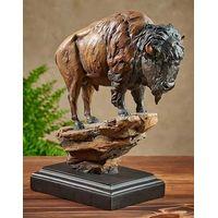 El Patron - Bison Sculpture