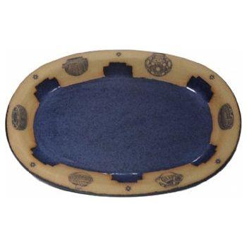 Indian Pots Large Oval Platter