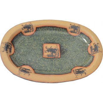Moose Large Oval Platter